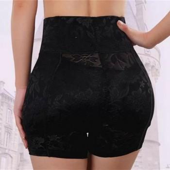 Calcinha short modeladora aumenta bumbum e quadril cintura alta