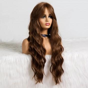 Peruca idêntica ao cabelo humano - fibra futura